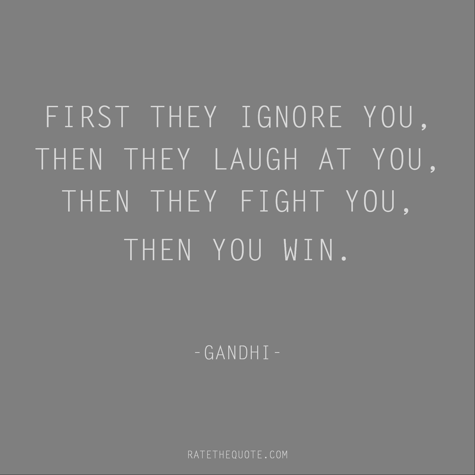 Quotes by Gandhi