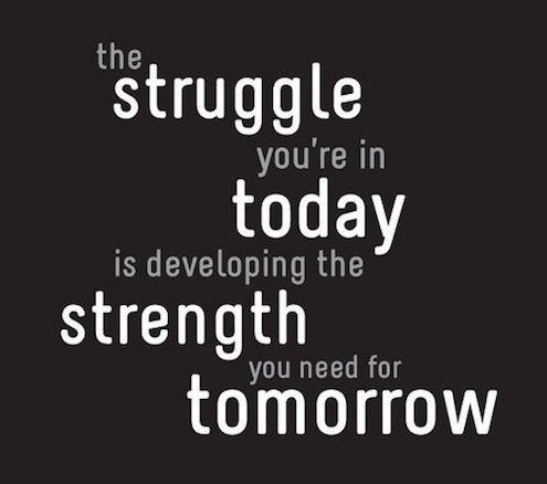 Quote The Struggle You're In Today Is Developing the Strength You Need For Tomorrow.